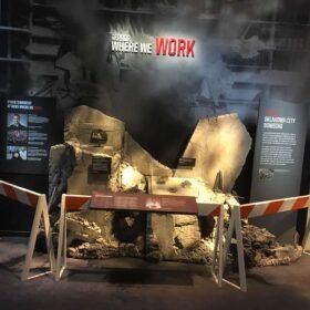 International Spy Museum - Rubble Display