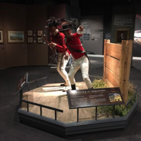 Museum of the American Revolution - Soldiers, Platforms and Scenic