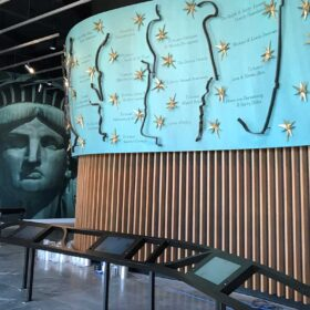 Statue of Liberty Museum Donor Wall