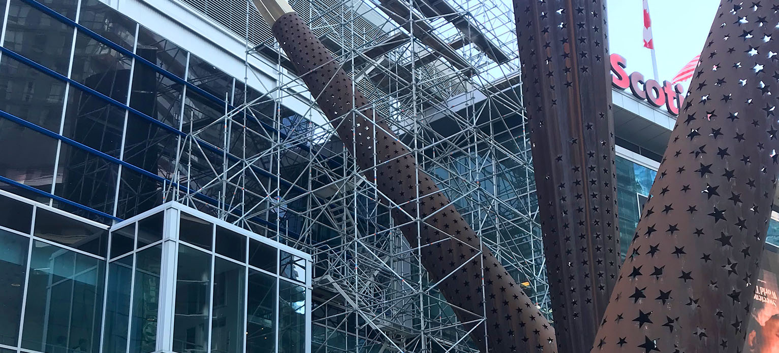 Ringscaff Scaffolding System Scotiabank