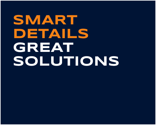 Smart Details. Great Solutions.