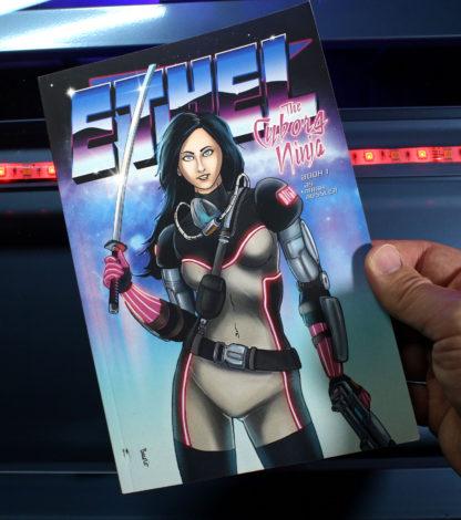 Ethel the Cyborg Ninja Book 1 cover