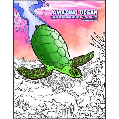 Amazing Ocean Coloring Book