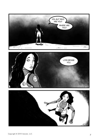 Ethel the Cyborg Ninja 2 Page 7 Sample