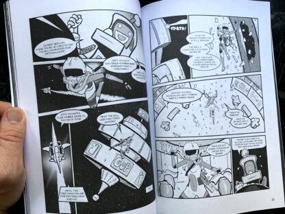 Ethel the Cyborg Ninja 3 by Mark Bussler