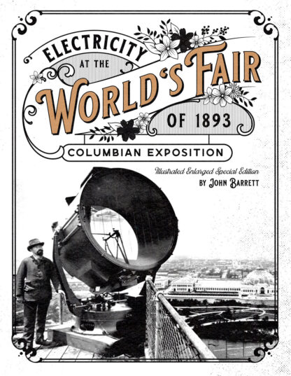 Electricity at the World's Fair of 1893 Columbian Exposition Cover