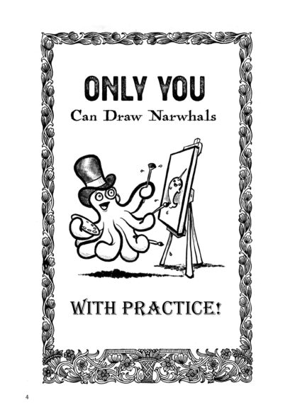 How To Draw Narwhals By Mark Bussler image 1