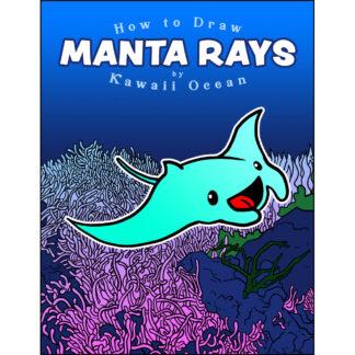 How to Draw Manta Rays by Kawaii Ocean