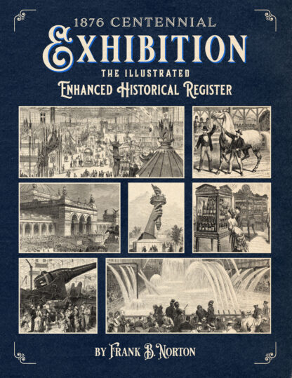 1876 Centennial Exhibition: The Illustrated Enhanced Historical Register Cover