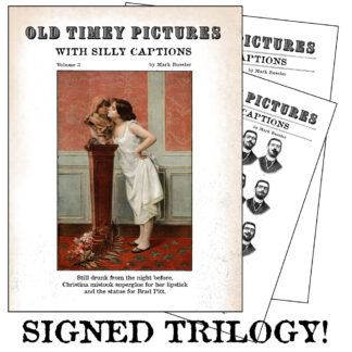 Old Timey Signed Trilogy!