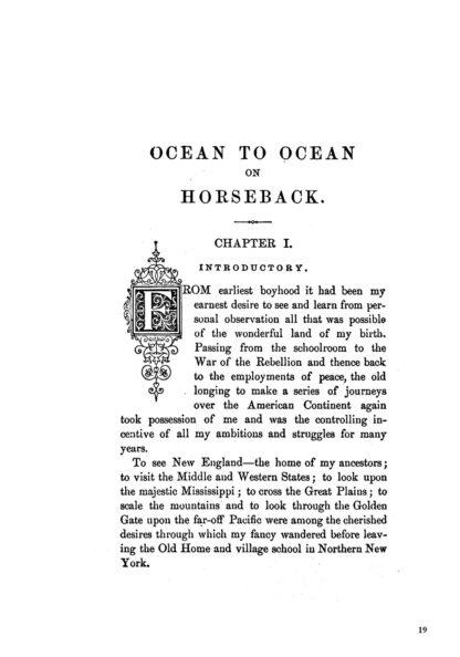 Ocean To Ocean On Horseback in 1876 image 4