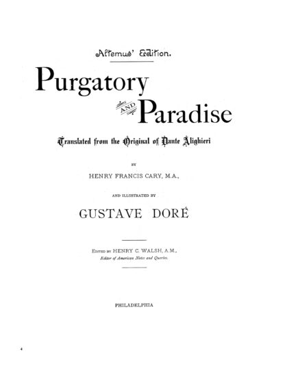 Dante's Purgatory and Paradise Image 3