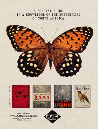 The Complete Butterfly Book: Enlarged Illustrated Special Back Cover