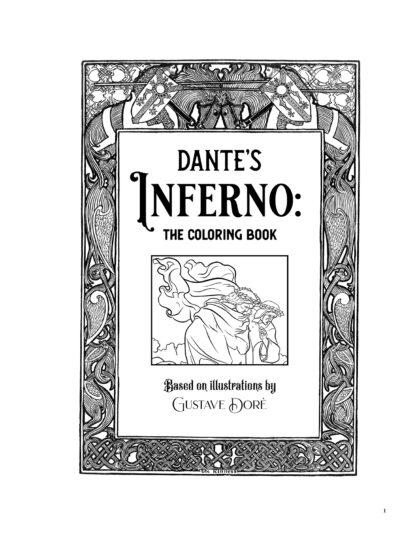 Dante's Inferno: The Coloring Book image 1