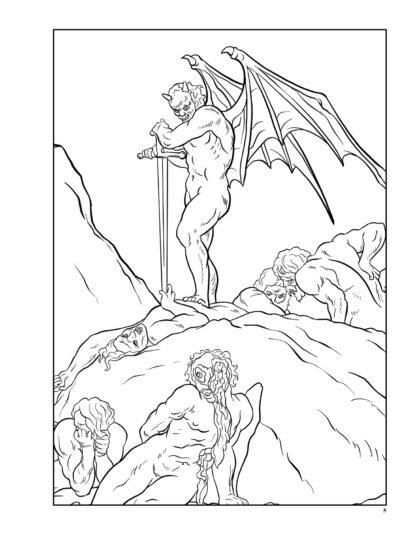 Dante's Inferno: The Coloring Book image 2
