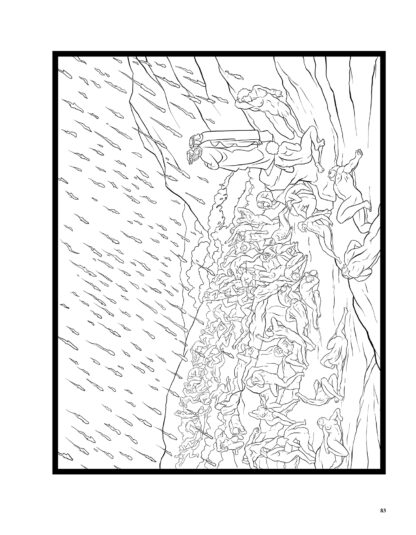 Dante's Inferno: The Coloring Book image 8
