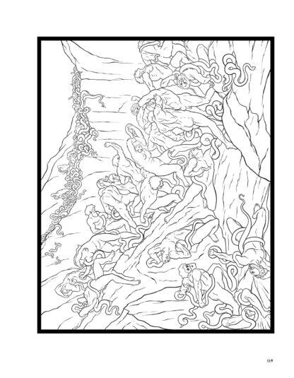 Dante's Inferno: The Coloring Book image 10