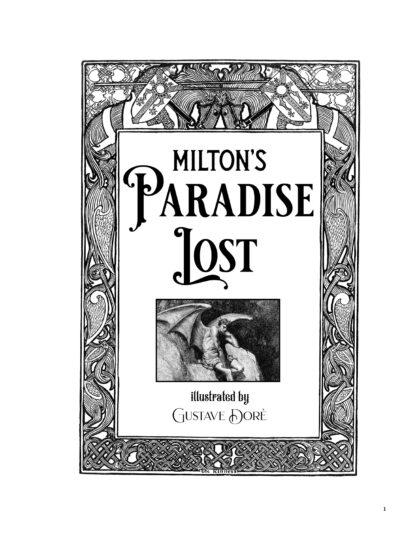 Milton's Paradise Lost: Gustave Doré Retro Restored Edition image 1