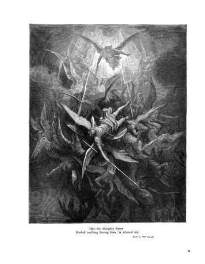Milton's Paradise Lost: Gustave Doré Retro Restored Edition image 4
