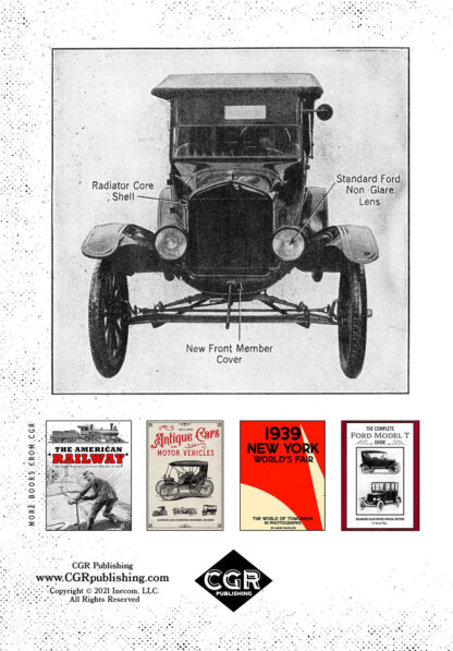 Henry Ford My Life and Work Enlarged Special Edition Back Cover