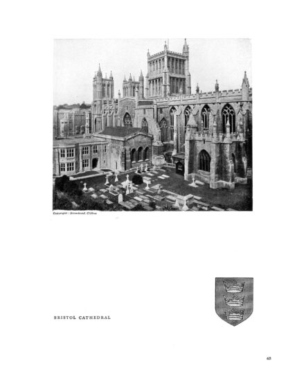 Historic Cathedrals of England: A Classic Illustrated Guide image 1