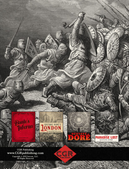 History of the Crusades Volume 1 Gustave Dore Restored Special Edition Back Cover