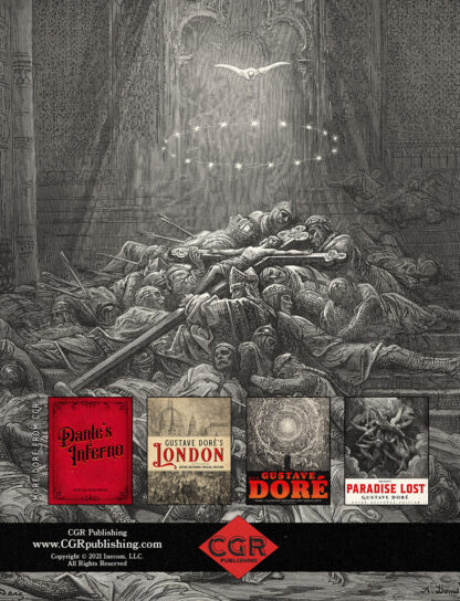History of the Crusades Volume 2 Gustave Dore Restored Special Edition Back Cover