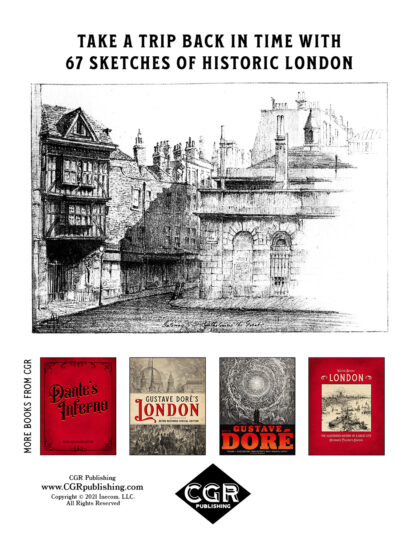 London Alleys, Byways and Courts: Enlarged Special Edition Back Cover