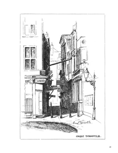 London Alleys, Byways and Courts: Enlarged Special Edition image 1