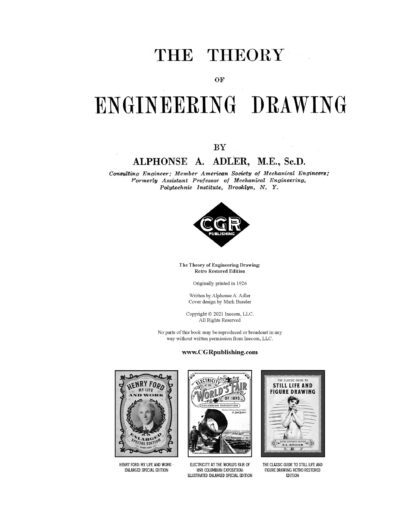The Theory of Engineering Drawing: Retro Restored Edition image 1