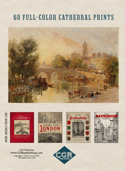 Cathedral Cities of France: Restored Color Special Edition Back Cover