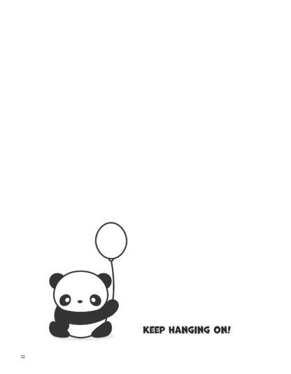Super Cute Kawaii Panda Coloring Book: Mega Adorable Edition image 4