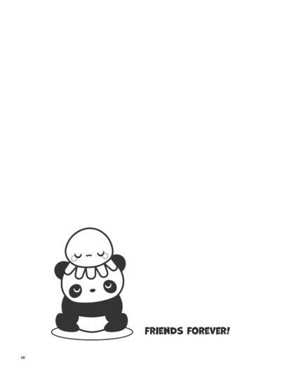 Super Cute Kawaii Panda Coloring Book: Mega Adorable Edition image 8