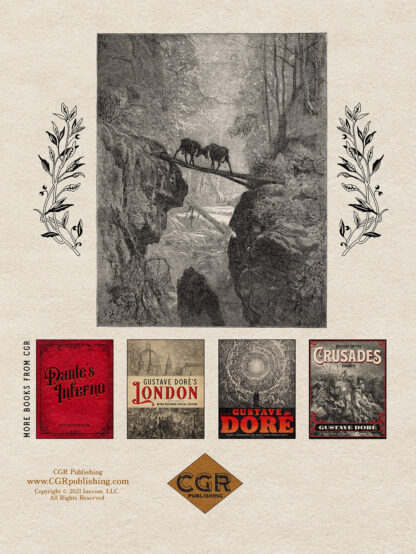 The Fables of Jean de La Fontaine Volume 2: Gustave Doré Restored Special Edition Back Cover