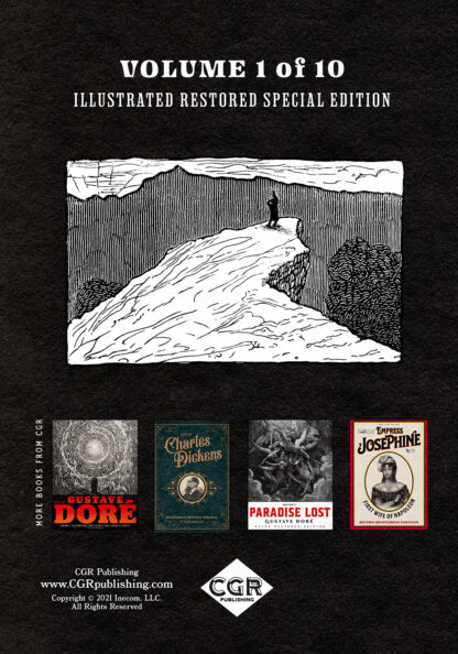 Complete Works of Edgar Allan Poe Volume 1: Illustrated Restored Special Edition Back Cover