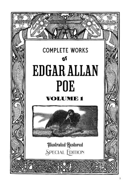 Complete Works of Edgar Allan Poe Volume 1: Illustrated Restored Special Edition image 9