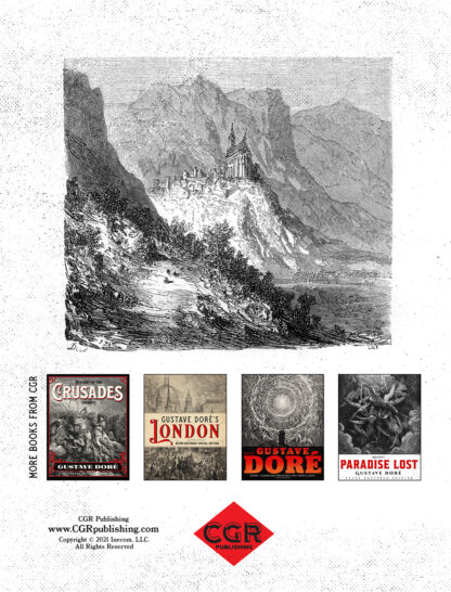 The Pyrenees: Gustave Doré Restored Special Edition Back Cover