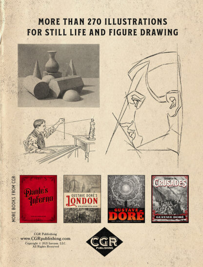 The Classic Guide to Still Life and Figure Drawing: Retro Restored Edition Back Cover