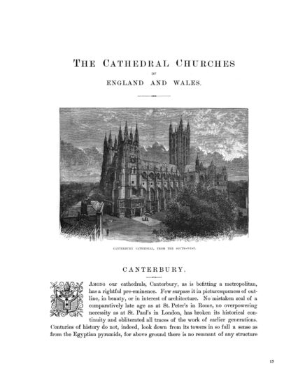 The Cathedral Churches of England and Wales: Enlarged Illustrated Special Edition Image 5