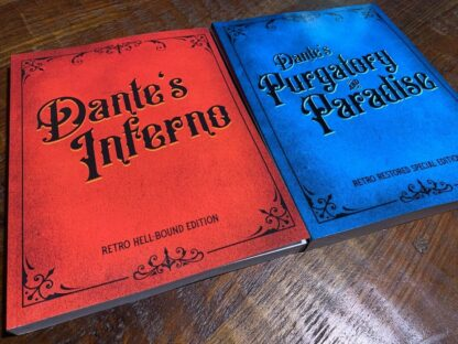 Gustave Doré Divine Comedy Set: Dante's Inferno & Purgatory and Paradise image 1
