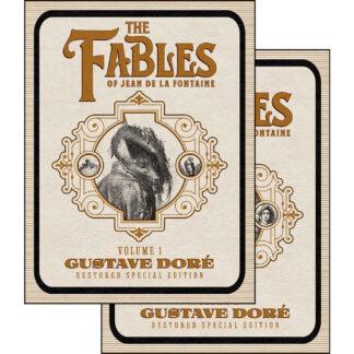 The Fables of Jean de La Fontaine 2-Volume Set: Gustave Doré Restored Special Edition Bundle