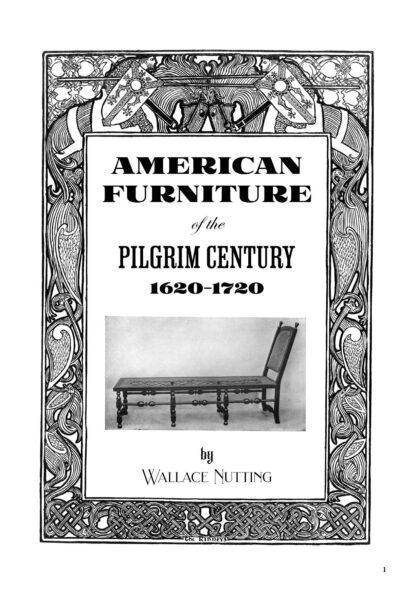 American Furniture of the Pilgrim Century 1620-1720: Illustrated Restored Special Edition image 1