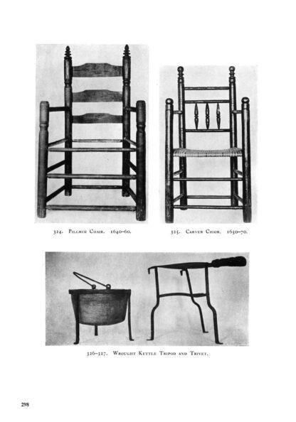 American Furniture of the Pilgrim Century 1620-1720: Illustrated Restored Special Edition image 10