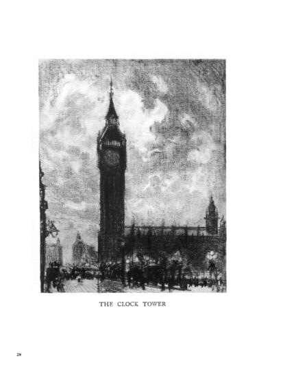 London by Dark: Pre-War Drawings and the History of Famous City Locations image 4