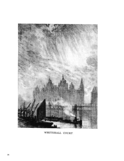 London by Dark: Pre-War Drawings and the History of Famous City Locations image 5