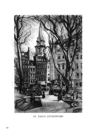 London by Dark: Pre-War Drawings and the History of Famous City Locations image 10