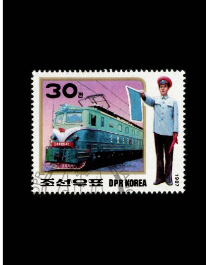101 Trains on Stamps Volume 1: The Art of Locomotives on Postage Stamps image 2