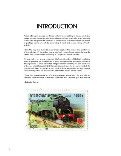 101 Trains on Stamps Volume 1: The Art of Locomotives on Postage Stamps image 3