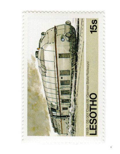 101 Trains on Stamps Volume 1: The Art of Locomotives on Postage Stamps image 4