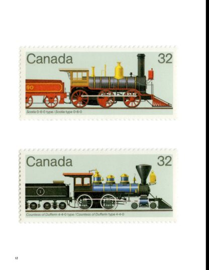 101 Trains on Stamps Volume 1: The Art of Locomotives on Postage Stamps image 6